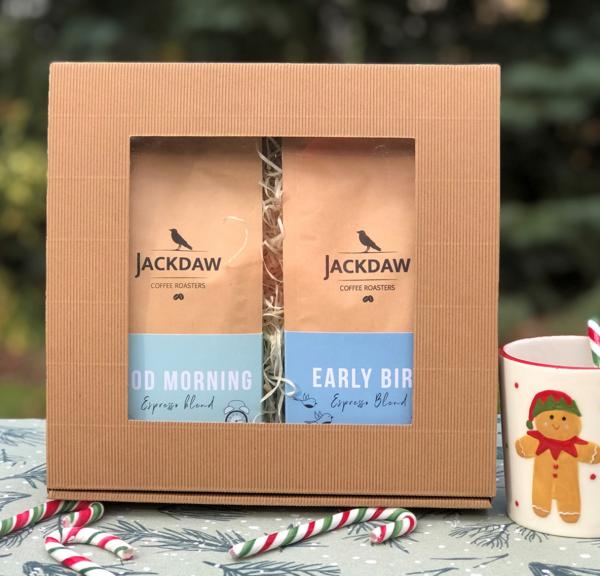 Wyjątkowy prezent - zestaw dwóch kaw na prezent